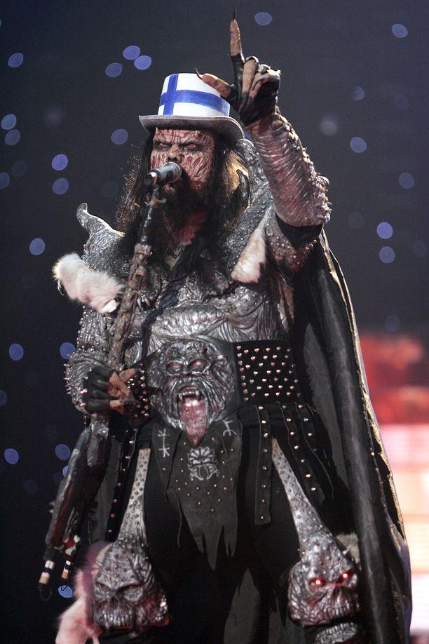 Lordi rikkoi piste-ennätykset Ateenassa järjestetyissä Euroviisuissa vuonna 2006. Voitto on toistaiseksi Suomen ainoa.