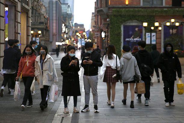 Wuhan oli ensimmäinen paikka, jossa todettiin koronavirusta. Kuva Wuhanista huhtikuulta.