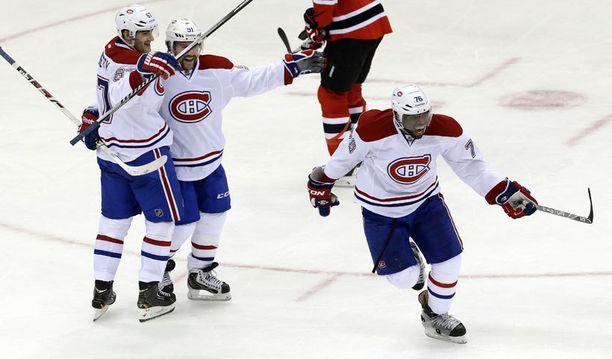 Montreal pääsi lopulta juhlimaan voittoa.