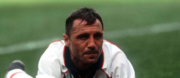 Hristo Stoitshkov on legenda Barcelonassa.