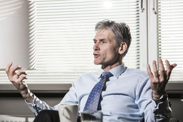 Danske Bankin pääjohtaja Thomas F. Borgen.