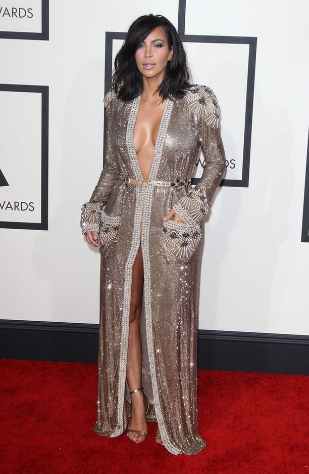 Kanye West oli valinnut Jean Paul Gaultierin puvun vaimolleen.