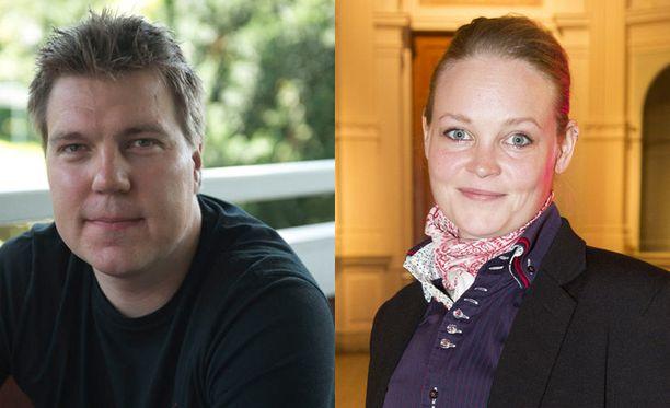 Teemu Ramstedt ja Siiri Nordin ovat tänään Susanne Päivärinnan vieraina.