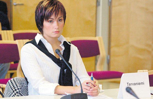 SYYTETTY. Susanna Tervaniemi on saanut vuonna 2003 tuomion huumerikoksesta.