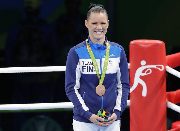 Olympiamitalisti Mira Potkonen on 60-kiloisten ykkössijoitettu.