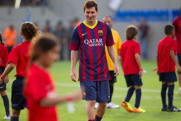 Ostaisitko Lionel Messin 580 miljoonalla eurolla?