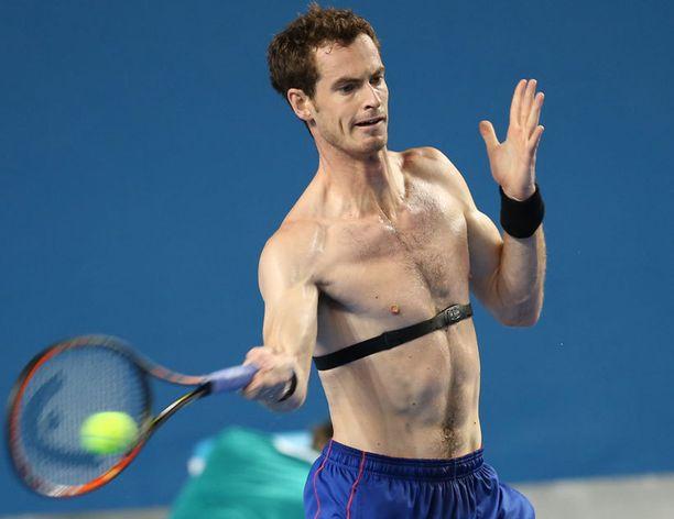 Andy Murray on tiukassa kunnossa.