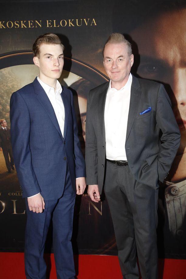 Arto Nybergin Max-poika on Tolkienin suuri fani. -Luin Taru sormusten herrasta -kirjasarjan jo lapsena.