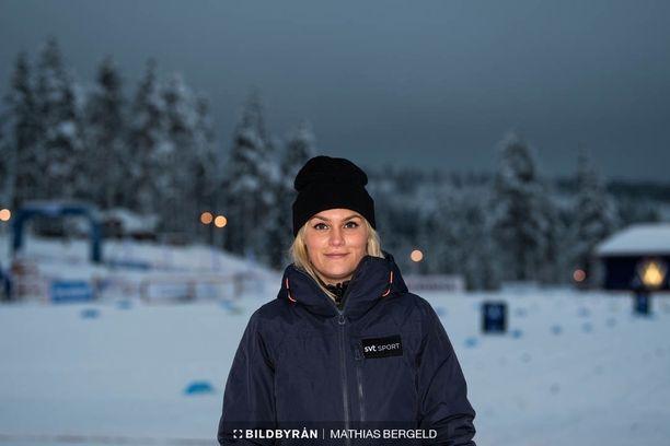 Moa Jörnmark on työskennellyt SVT:llä jo yli kahdeksan vuotta.