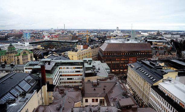 Viime vuonna Helsingin seudulle muutti lähes 18 000 asukasta.