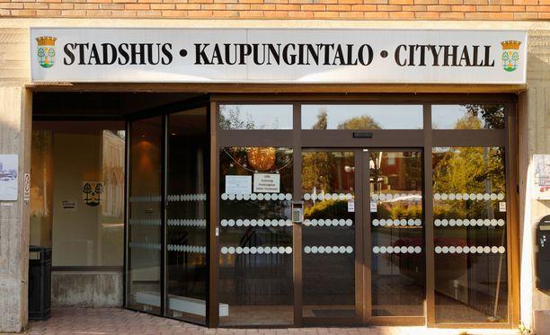 Ruotsissa Haaparannan kaupungintalo on evakuoitu pommiuhkauksen vuoksi.
