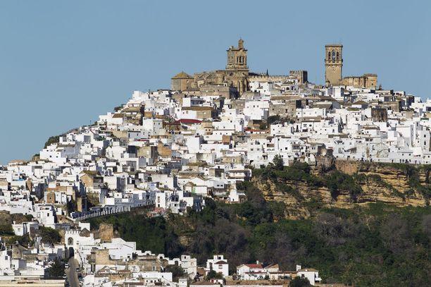 Arcos de la Fronteran linnoitus on keskiajalta, ja maurien rakentama.