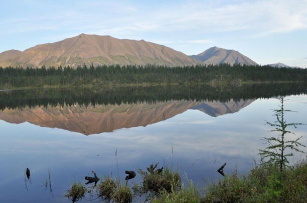 Kesäaikaan seudun järvet saavat olla jäistä vapaina.