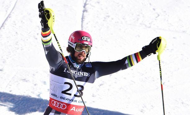 Andreas Romar pääsi maailmancupin pisteille.