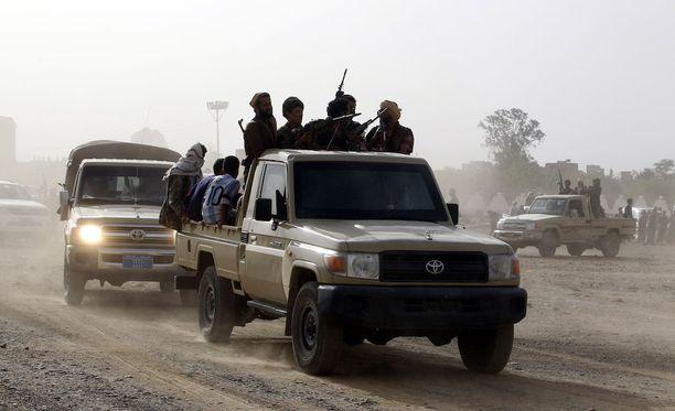 Jemenissä on käyty jo vuosien ajan sisällissotaa, johon myös useat ulkomaat ovat sekaantuneet.