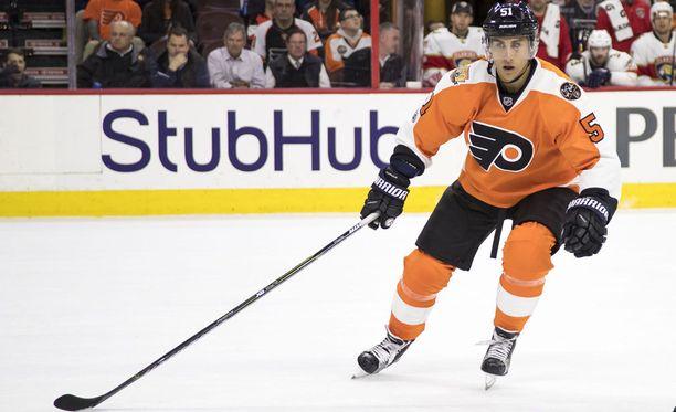 Philadelphia Flyers on Valtteri Filppulan kolmas NHL-seura.