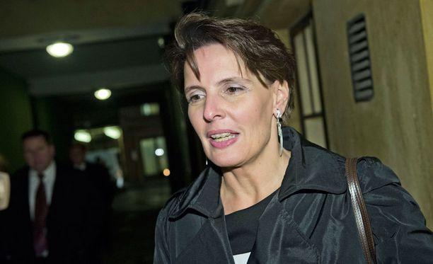 Keskustan Anne Berner on yksi uudista kansanedustajista. Hän on myös liikenne- ja viestintäministeri.