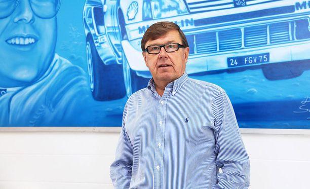 Timo Salonen voitti rallin maailmanmestaruuden vuonna 1985. Nykyään mies asuu suurimman osan vuodesta Espanjassa.