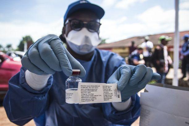 Kongossakin rokotetaan ebolaa vastaan, mutta taistelussa tautia vastaan suuri ongelma tällä hetkellä on on maan turvallisuustilanne. Arkistokuva.