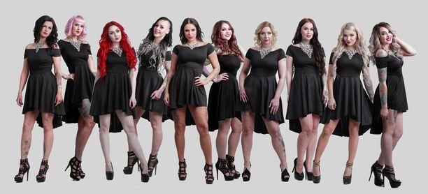 Yksi heistä on vuoden 2017 Miss Rock.