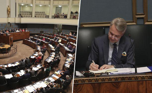 Pekka Haavisto sai eduskunnan luottamuksen joulukuun äänestyksessä. Tämän jälkeen kymmenen opposition kansanedustajaa jätti Haaviston toimista perustuslain mukaisen muistutuksen.