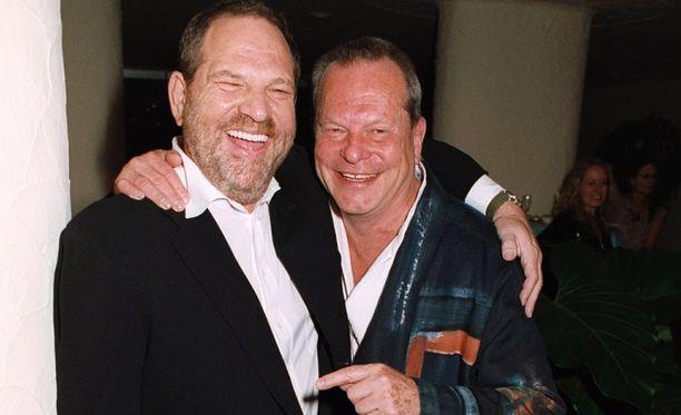 Terry Gilliam ja Harvey Weinstein kuvattuna vuonna 2005.
