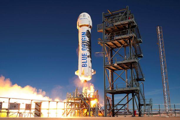 Bezoksen omistaman avaruuslaitevalmistaja Blue Origin -raketin poikkeuksellinen muotoilu herättää maailmalla huvittuneisuutta.