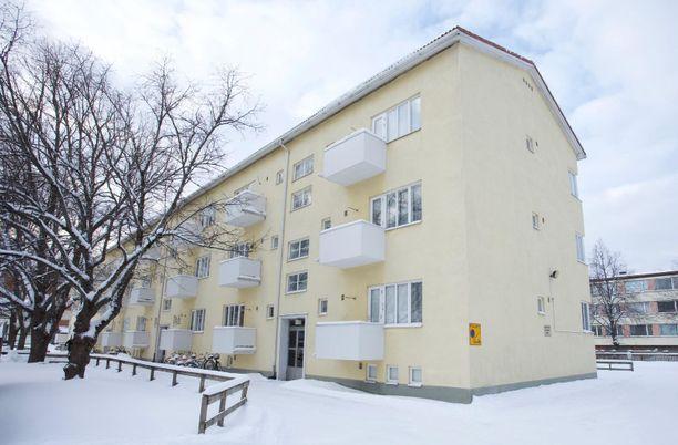 Porilainen kerrostalo on rakennettu 1946.