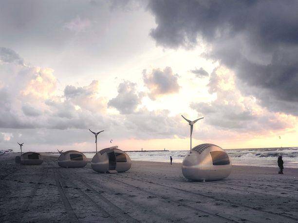 Ecocapsulen myyntihinta on vielä auki. Suunnittelijat lupaavat ilmoittaa sen loppuvuodesta.