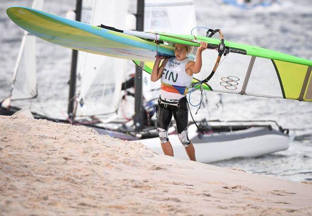 Tuuli Petäjä-Sirén ei onnistunut Riossa yhtä hyvin kuin Lontoossa. Hopeamitali vaihtui kymppisijaan.