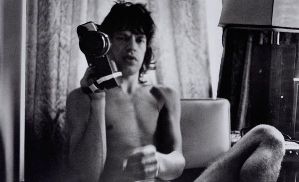 Robert Frank kuvasi Mick Jaggeria 1970-luvun alussa.