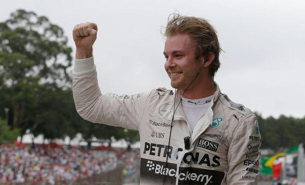 Nico Rosberg dominoi Brasilian osakilpailua alusta loppuun.