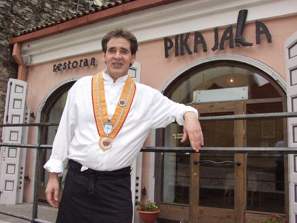 Tapio Reini työskenteli aiemmin ravintola-alalla.