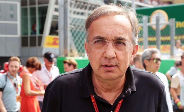 Sergio Marchionne ei innostu kulukatosta.
