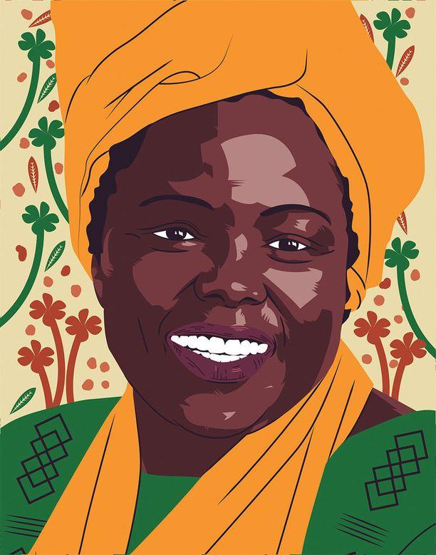 Kuvittanut Thandiwe Tshabalala.