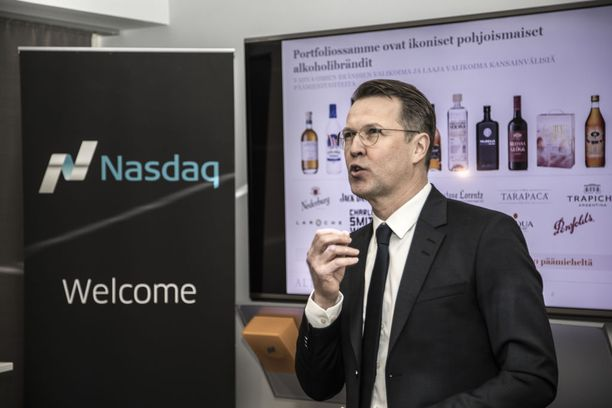 Altian toimitusjohtaja Pekka Tennilä esitteli yhtiön listautumishanketta Helsingissä 23. helmikuuta.
