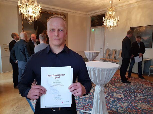Tilaisuuden ainutlaatuisuus sai Petri Pinoniemen matkustamaan pohjoisesta Helsinkiin.
