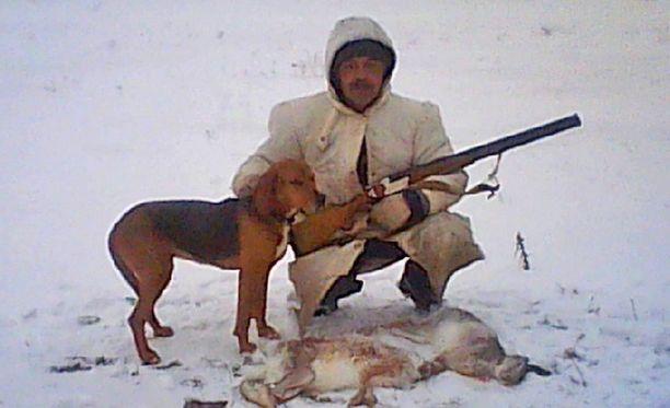 64-vuotias Sergei Terekhov oli erityisen innokas metsästämään jäniksiä.