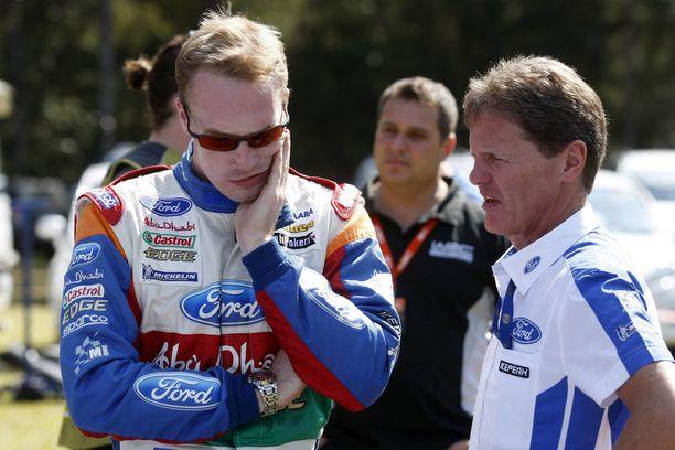 Latvala ja Wilson kävivät monta palaveria suomalaisen ajaessa M-Sportin riveissä.