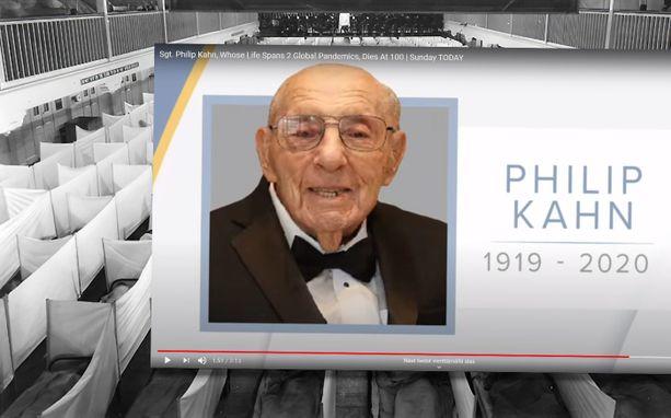 100-vuotias Philip Kahn menehtyi koronavirukseen ja hänen kaksoisveljensä espanjantautiin sata vuotta aiemmin.