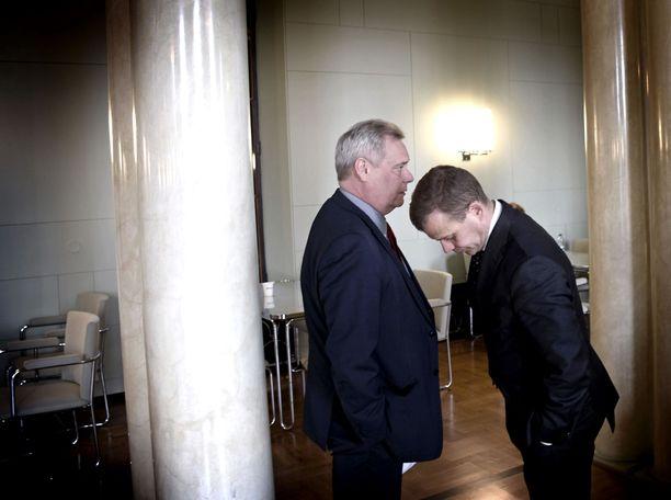 Seuraavien viikkojen kuuma kysymys on, löytävätkö SDP:n puheenjohtaja Antti Rinne ja kokoomuksen puheenjohtaja Petteri Orpo yhteisen sävelen.