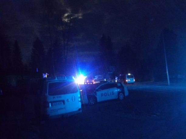 Noin 30-vuotias nainen ja 40-vuotias mies löytyivät asunnosta elottomana. Lisäksi paikalla oli kolme puukotusvammoja saanutta miestä. Paikalle tuli useita poliisipartioita.