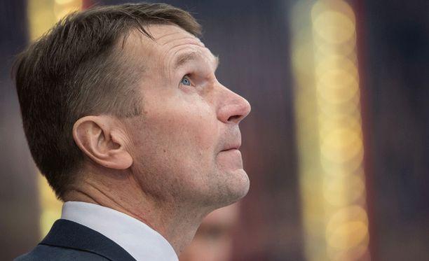 Erkka Westerlund ei tehnyt muutoksia voittaneeseen joukkueeseen.