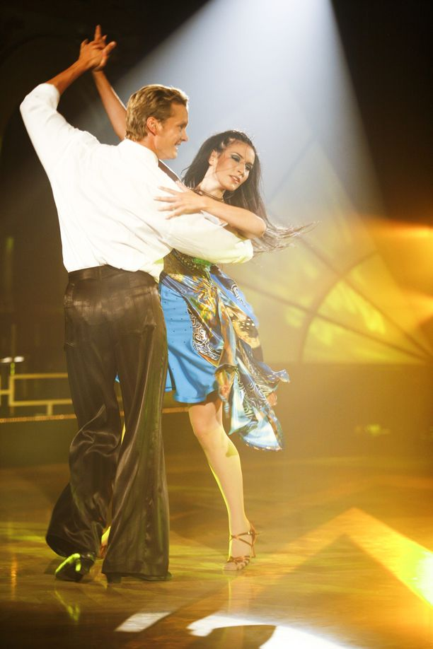 Maria Lund ja Mikko Ahti hurmasivat katsojat vuonna 2008.