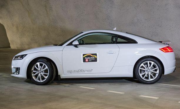 Paras luksuscoupé. Audi TT Coupé on tyylikäs ja laadukas.