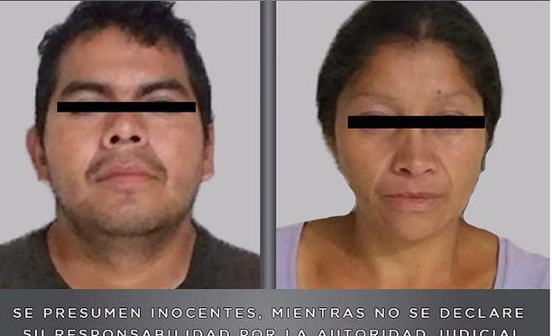 Epäilty pari Juan Carlos ja hänen vaimonsa Patricia.