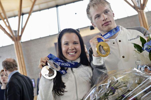 Iivo ja Kerttu Niskanen nousivat Sotshin hopea- ja kultamitaleillaan koko Suomen kansan tietoisuuteen.