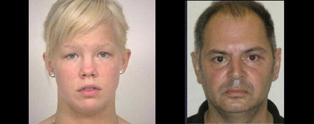 Europolin Europe's Most Wanted Fugitives -sivuston listalla on kaksi suomalaista, Marina Cecilia Kettunen ja Dimitri Allan Lindeman.