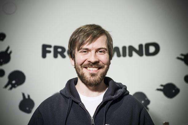 Frogmind -peliyhtiön toimitusjohtaja Johannes Vuorinen.