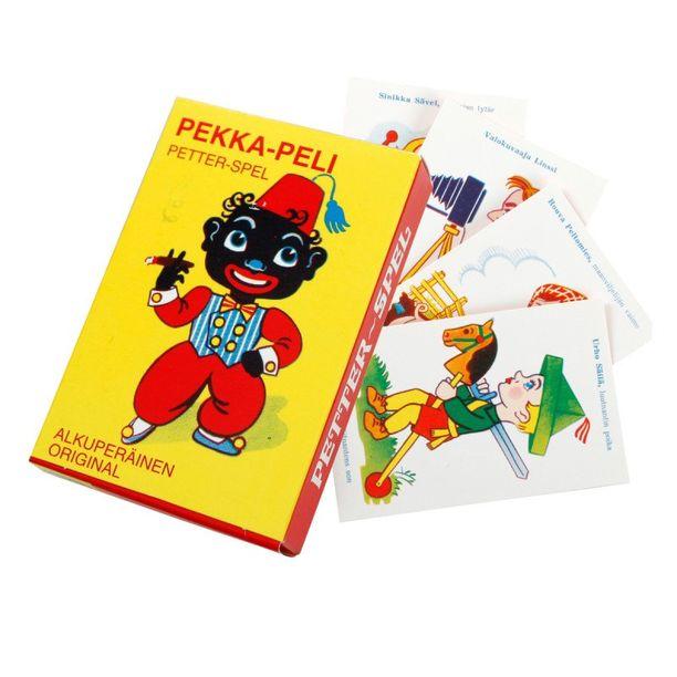 Pekka-peliä on myyty 1930-luvulta asti.